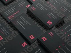Arzinger. Редизайн логотипа и фирменного стиля