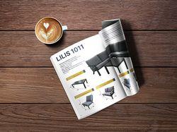 Каталог для мебельной фирмы Rengard