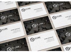 Лого, визитки, элементы фирменного стиля