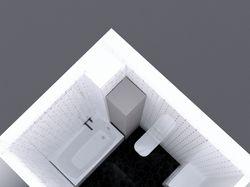 3д план ванной комнаты