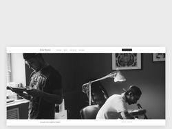Дизайн сайта для тату-студии