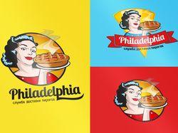 Логотип: Philadelphia (Служба доставки пирогов)