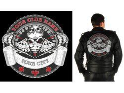 Логотип для байкеров-врачей