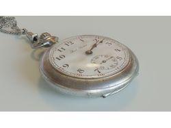 3D модель часов Paul Buhre № 1794