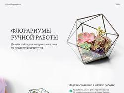 Магазин флорариумов