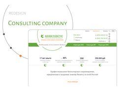 Корпоративный сайт для консалтинговой компании