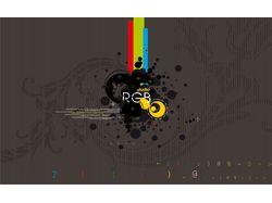 """Дизайн Студия """"RGB"""" (Главная страница)"""