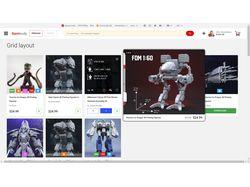 Интернет магазин по продаже файлов 3d принтеров