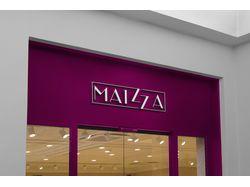 Логотип для магазина женской одежды Maizza