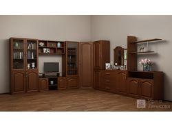 Мебель, стенка: моделирование и фотореалистичная в