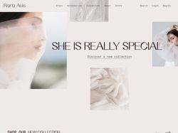 Редизайн сайта Rara Avis