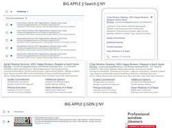 Bigapplewindows.com / Google Adwords/ Англоязычный