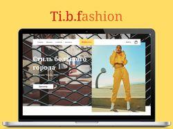 Ti.b.fashion - дизайн интернет-магазина одежды