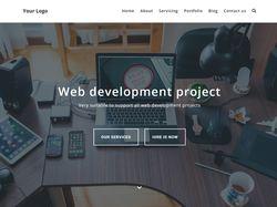 Адаптивная верстка сайта Web Development Project.