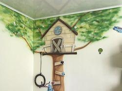 перерисовка детской комнаты