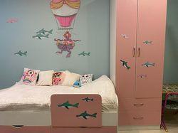 детская в комнате девочки