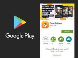 Дизайн страницы приложения в Google Play