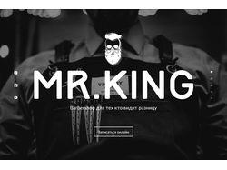 """Barbershop """" MR.KING """""""
