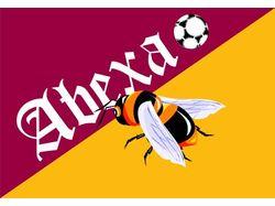 Флаг футбольного клуба Абеха
