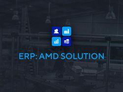 Переверстка лендинга «ERP: AMD SOLUTION»
