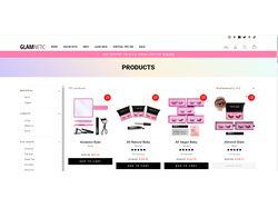 Веб магазин для парфюмерии