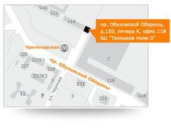 """Карта для сайта """"Бухгалтерское дело"""""""