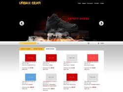 e-commerce with search engine and shopping cart