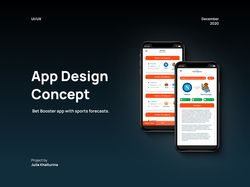 Дизайн мобильного приложения | UI/UX