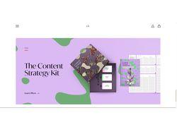 Верстка+Дизайн http://www.karalyte.com