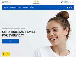 Адаптивная верстка landingPage сайта Dental