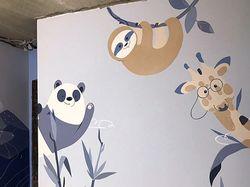 роспись детской комнаты