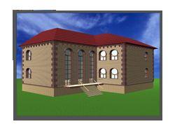 Дизайн фасада особняка