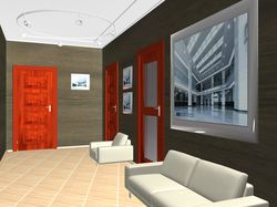Дизайн холла частного дома