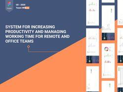 UX - web design. Team2win.ru