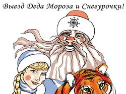 Реклама предоставления услуг вызова Деда Мороза