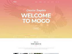 Вёрстка landing page MoGo