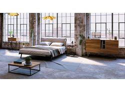 Разработка концепт арта серии мебели в стиле Loft