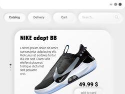 SneakerShop Website design