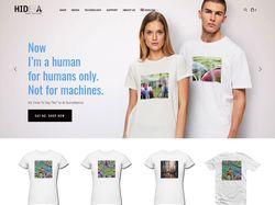 Магазин дизайнерских футболок