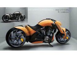 Мотоцикл под Ламборджини