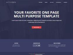 ActiveBox - PSD макет | WordPress
