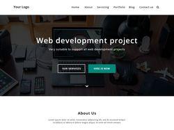 Landing page,  Web Development Project