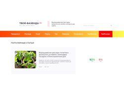 Сайт под ключ от семантики до публикации статей