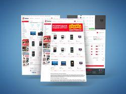 Магазин чехлов YouCase на OpenCart