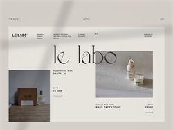 UI | UX | WEBSITE FOR LI LABO