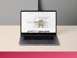 Редизайн главной страницы сайта (тестовое задание)