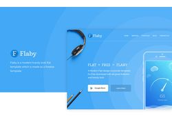 Landing page, Flaby