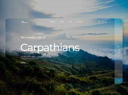 Дизайн сайта для туристической фирмы