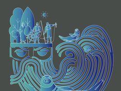 Иллюстрация Дедушка Байкал