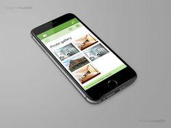 RealEstate (CMS) - mobile & desktop.